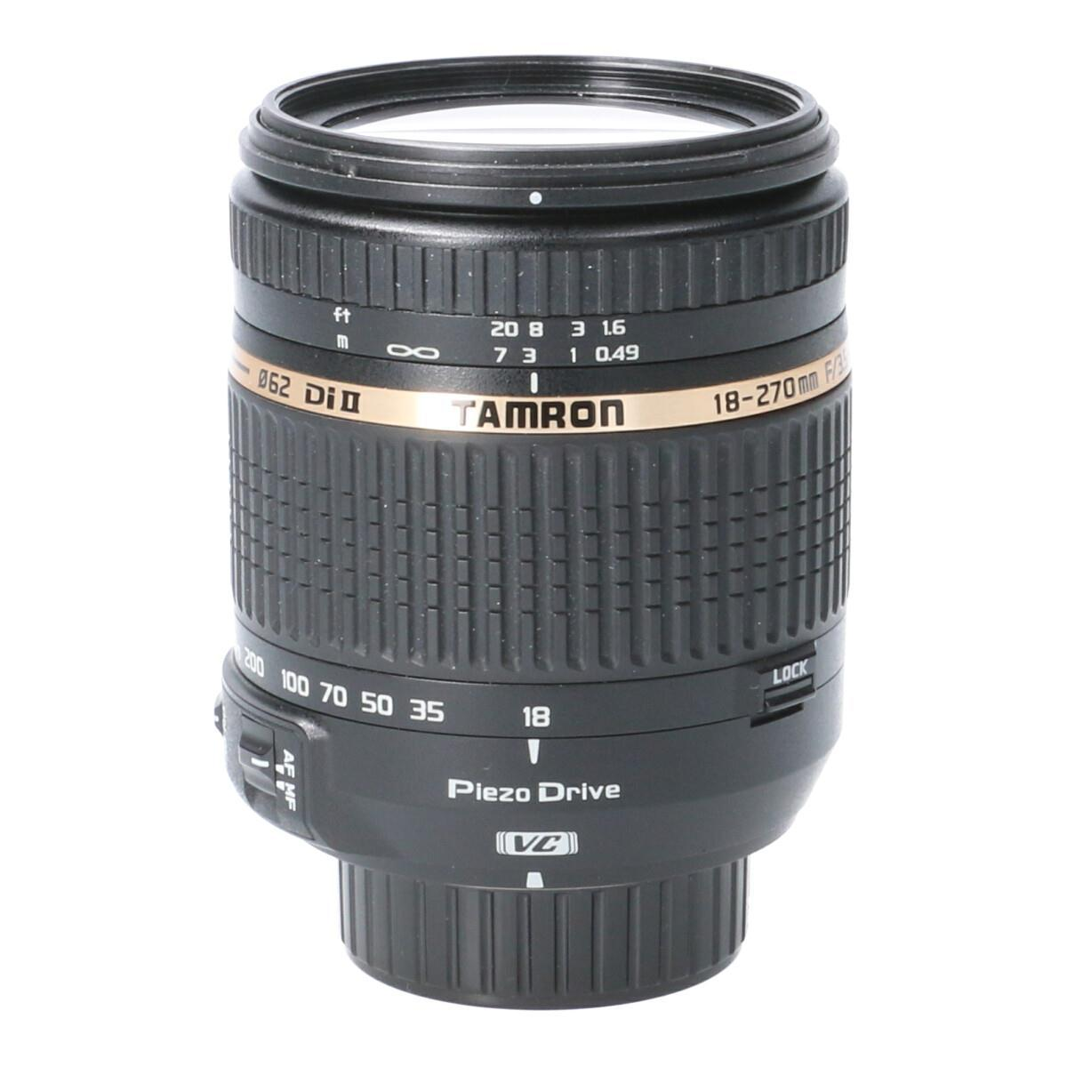 TAMRON ニコン(B008)18-270mm F3.5-6.3VC【中古】
