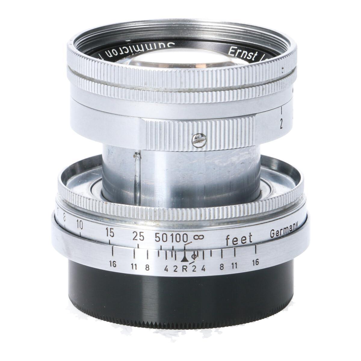 LEICA SUMMICRON-L50mm F2沈胴【中古】