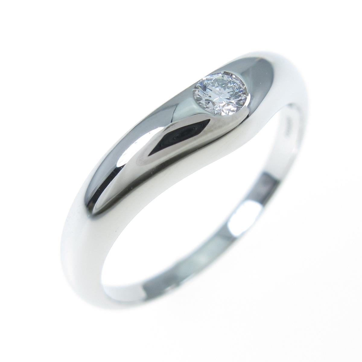ブルガリ ダイヤモンドリング【中古】