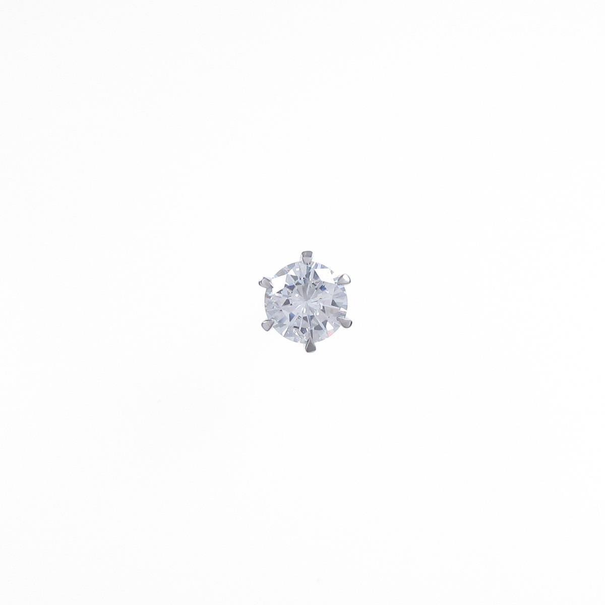 【リメイク】ST/プラチナダイヤモンドピアス 0.544ct・F・SI2・VG【中古】
