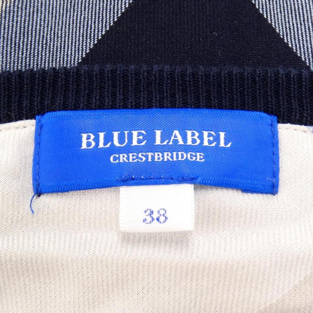 ブルーレーベルクレストブリッジ BLUE LABEL CRESTBRID ニットq354RLAj