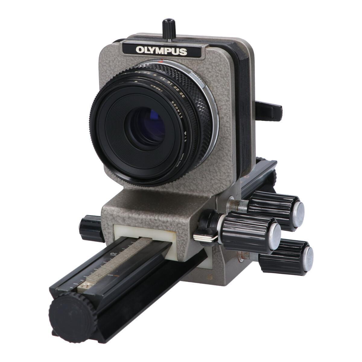 OLYMPUS OM80mm F4 1:1MACRO ベローズ付【中古】