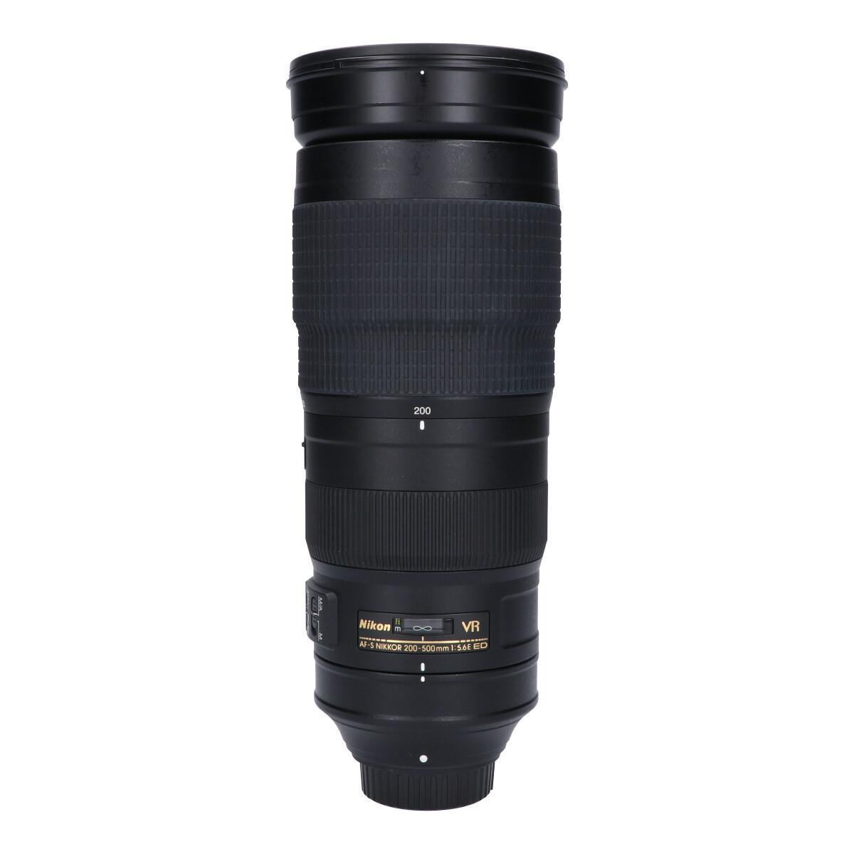 NIKON AF-S200-500mm F5.6E ED VR【中古】