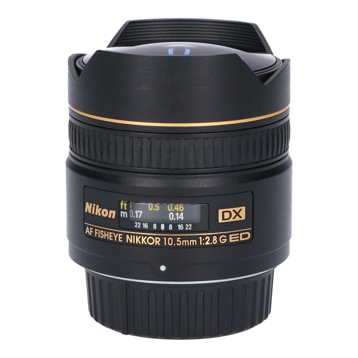 NIKON AF DX10.5mm F2.8G FISHEYE【中古】