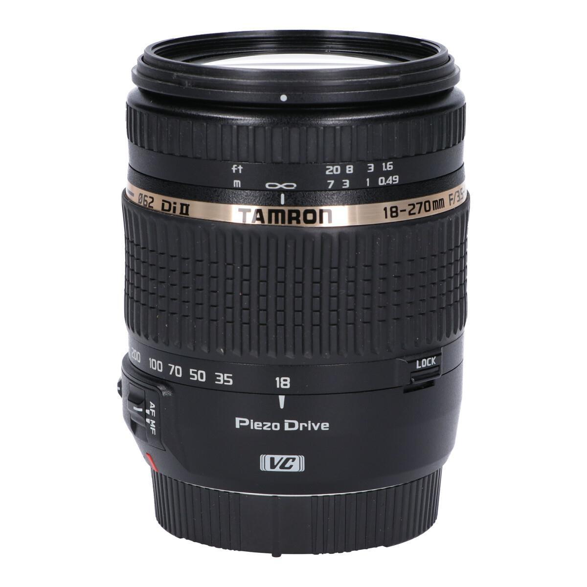 TAMRON EOS(B008)18-270mm F3.5-6.3VC【中古】