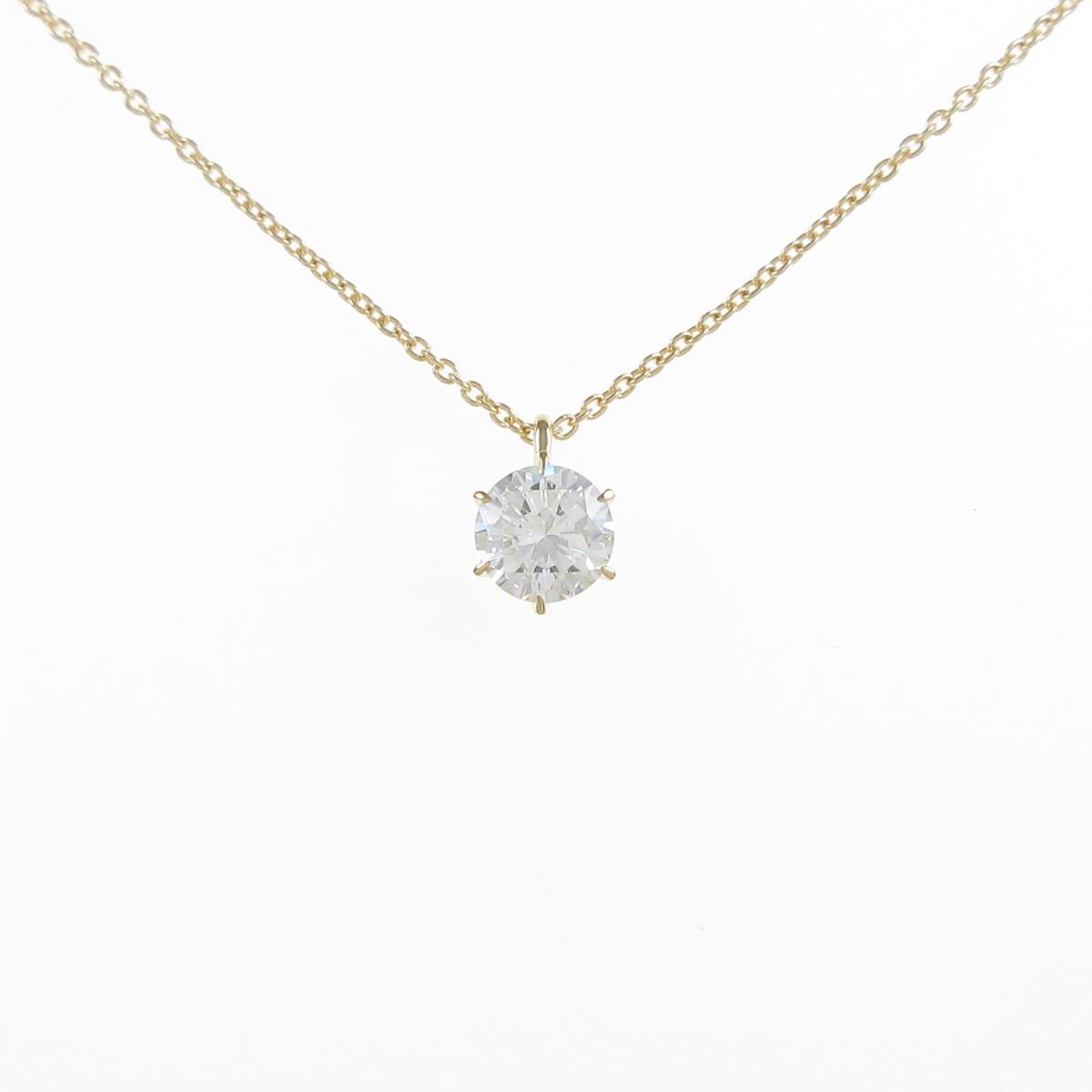 【高額売筋】 【リメイク】K18YG ダイヤモンドネックレス 0.498ct・I・VVS2・GOOD【】, アート商会 9b74d091