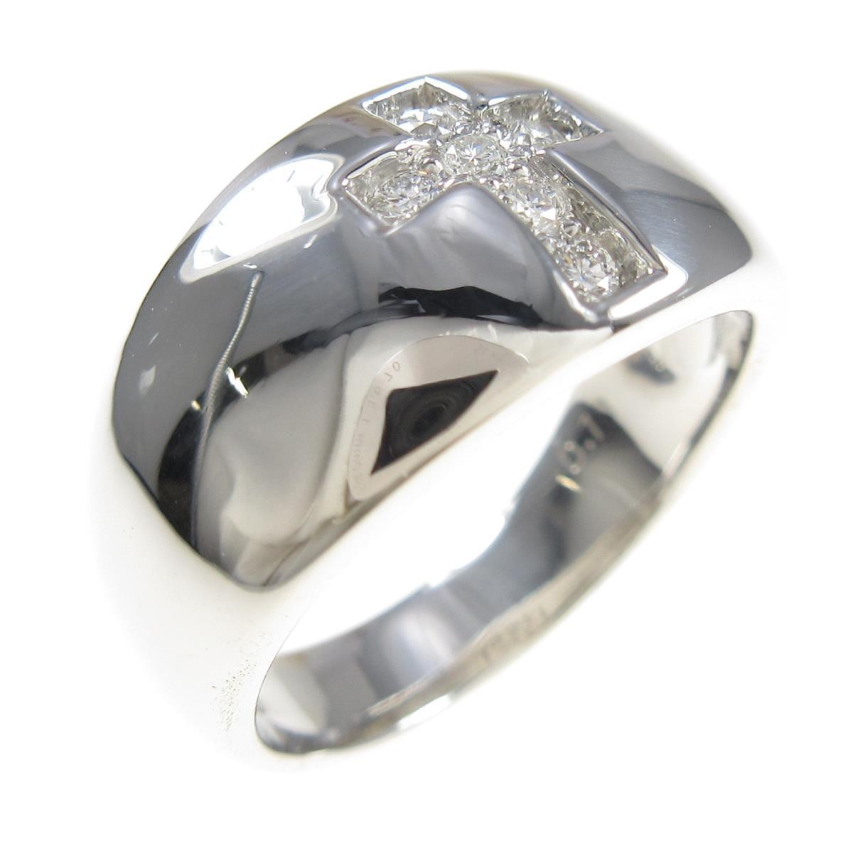 国内正規総代理店アイテム PT 新作アイテム毎日更新 クロス 中古 ダイヤモンドリング