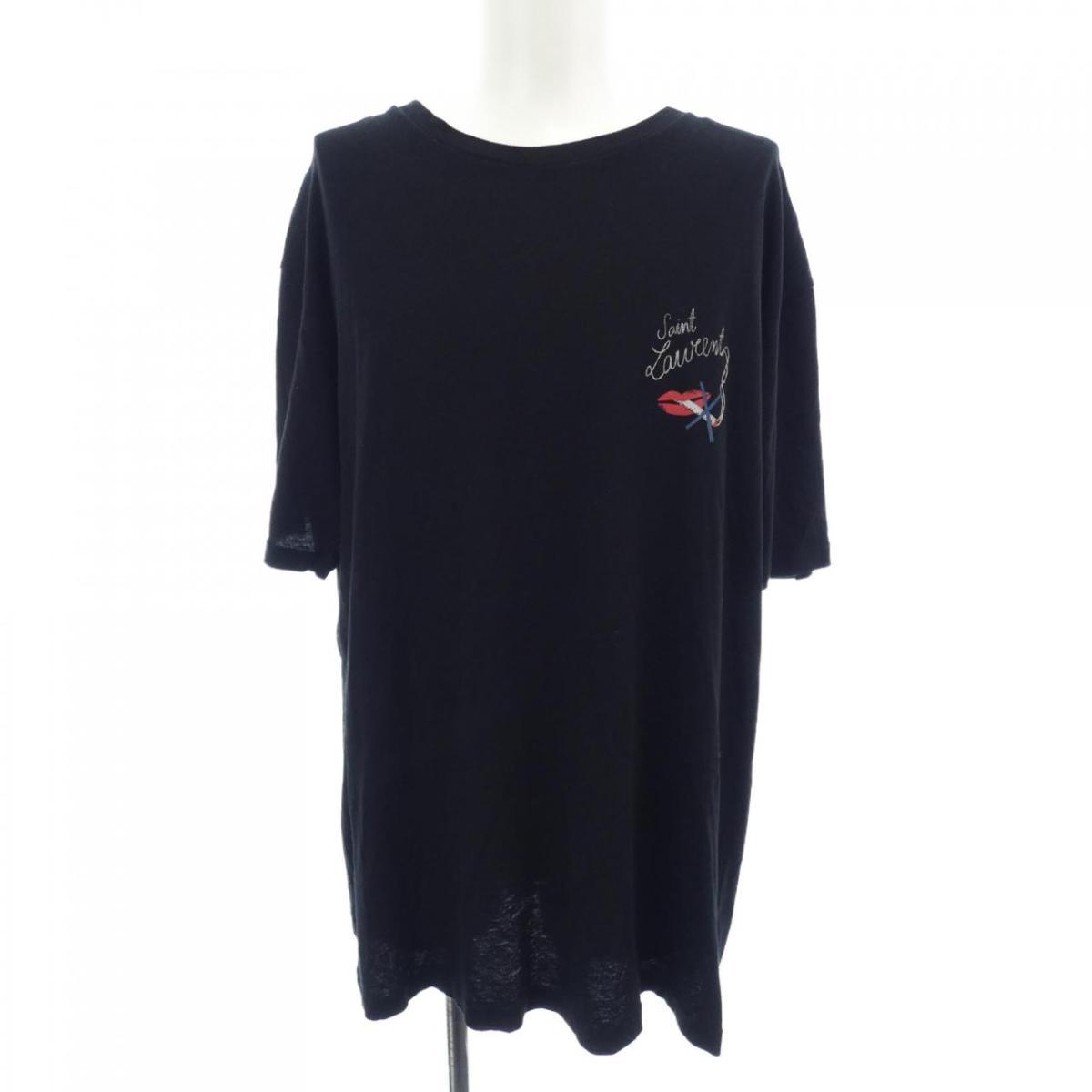 サン 爆安 ローラン SAINT 新作 大人気 中古 LAURENT Tシャツ