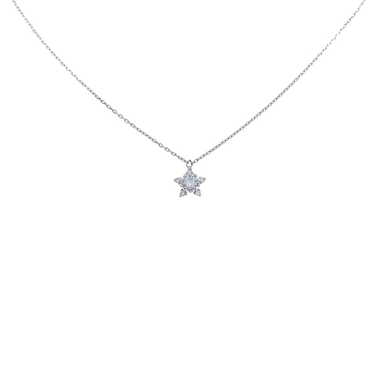 フェスタリア スター 中古 ダイヤモンドネックレス おしゃれ 返品送料無料