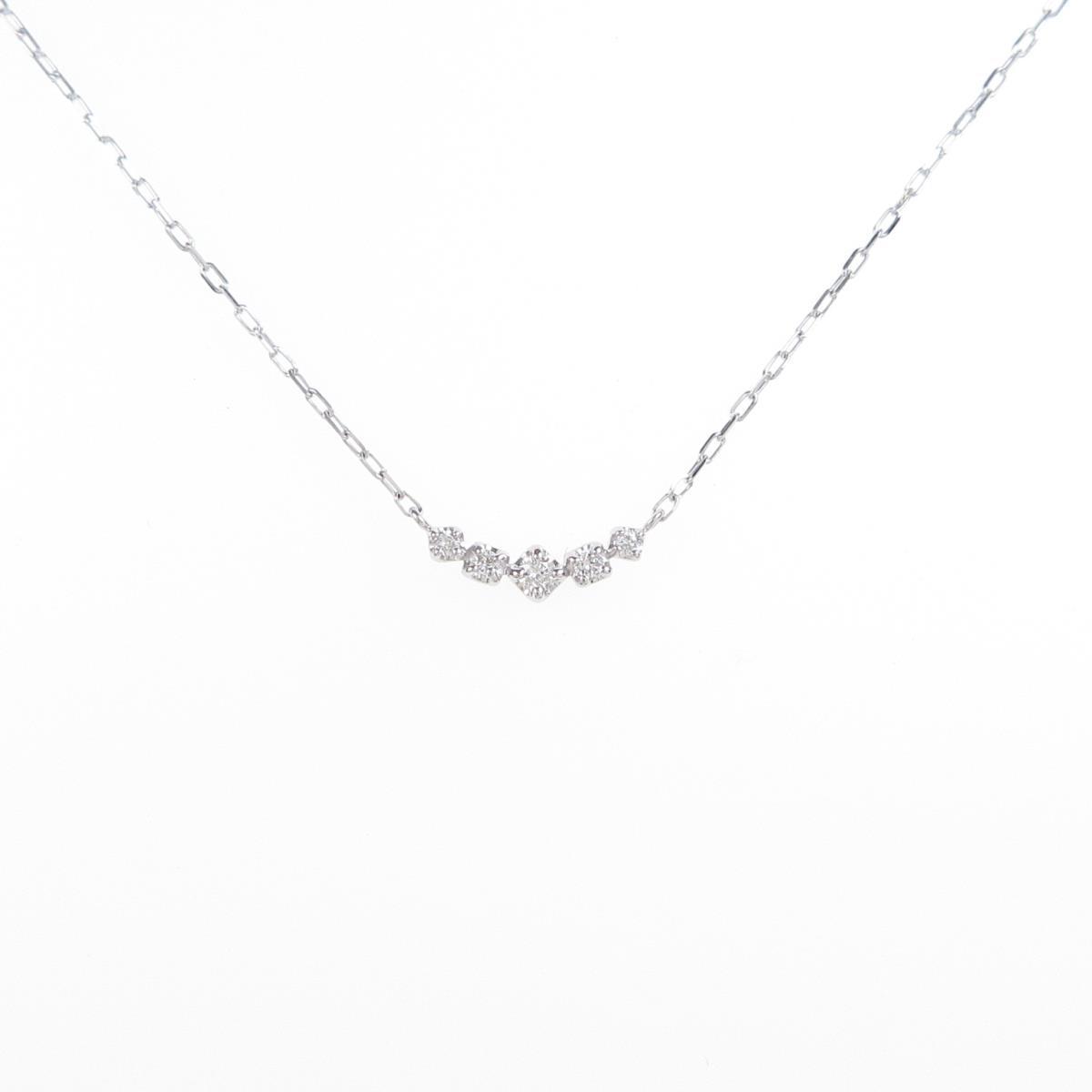 スタージュエリー ダイヤモンドネックレス 売買 迅速な対応で商品をお届け致します 中古