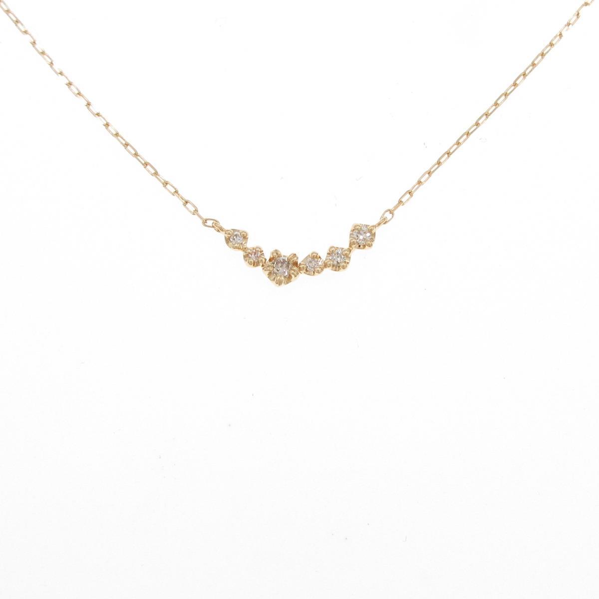 4゜C 価格 ◆セール特価品◆ ダイヤモンドネックレス 中古