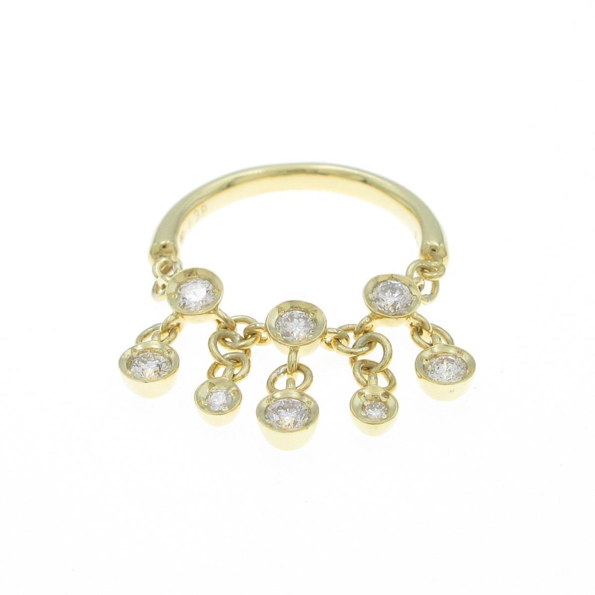 セイレーン 低価格 アズーロ ダイヤモンドリング 日本最大級の品揃え 中古