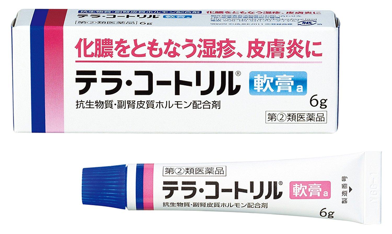 《ネコポス送料¥275》 指定第2類医薬品 期間限定の激安セール テラ トレンド コートリル軟膏a 6g※送料は当店で変更いたします