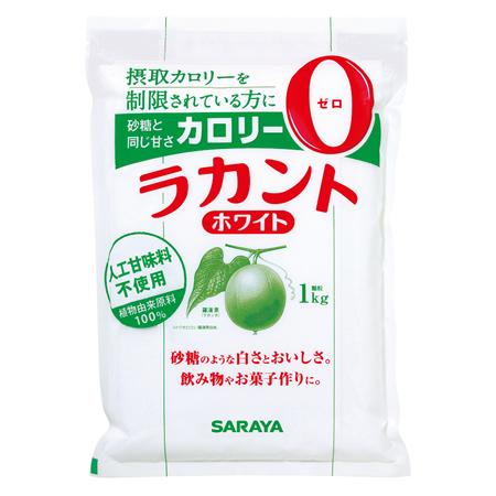 ラカントホワイト1kg【D】【送料無料】低カロリー 食品 低カロリー 菓子 調味料 砂糖 ブラウンシュガー