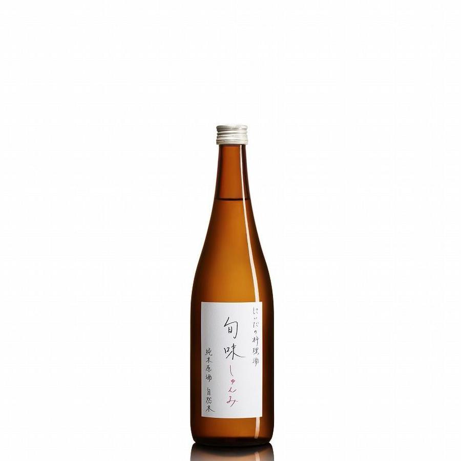 旬味(しゅんみ)』 純米原酒~金寳自然酒の料理酒 720ml 【がんばろう!福島】