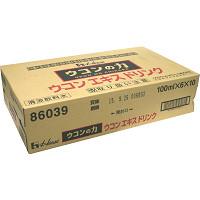 ハウスウェルネスフーズ ウコンの力 ウコンエキスドリンク 100mL×6本×10個(1ケース) ※お取り寄せ品