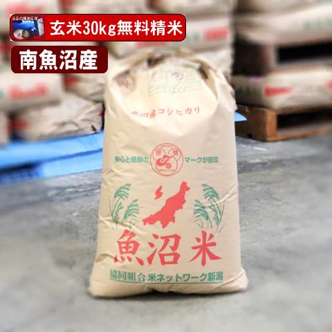 南魚沼産コシヒカリ(玄米)30kg【送料無料(本州のみ)】 佐川急便でお届け