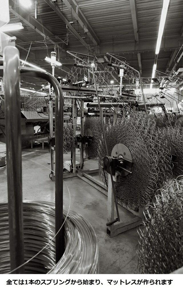 送料無料 フランスベッド 創立65周年記念モデル マジョリーノ501DR-MH セミダブルベッド/日本製/高級引き出し/羊毛綿入り