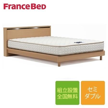 フランスベッド ネクストランディ NL-302C 脚付き セミダブルフレーム ウェービングスノコ床板(マットレス別売)