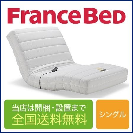 フランスベッド RP-1000 DLX 電動シングルマットレス 97cm×195cm×21cm