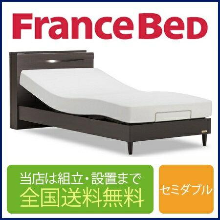 フランスベッド GR-04C 1モーター 電動セミダブルフレーム(マットレス別売)