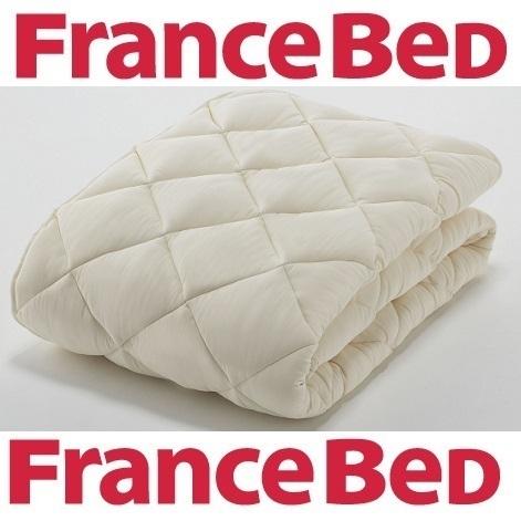 フランスベッド ソロテックスベッドパッドお買い得3点セット ワイドダブルサイズ(ベッドパッド1枚+マットレスカバー同色2枚)/洗濯可能/送料無料