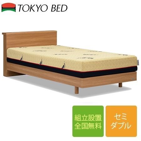 東京ベッド AN-90 CLG スノコ床板 セミダブルフレーム(マットレス別売)