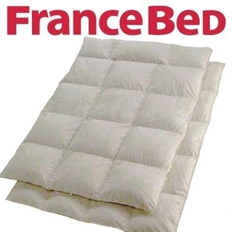 送料無料 フランスベッド 特価高級羽毛布団 AS-SF01 クイーンサイズ/ハンガリー産ダウン95%/日本製/高品質/オールシーズンタイプ/制菌加工