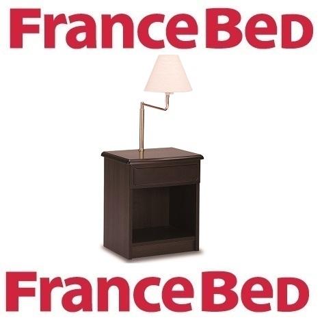 送料無料 フランスベッド ナイトテーブル スイングライトナイトテーブル/日本製/F4スター/照明付き