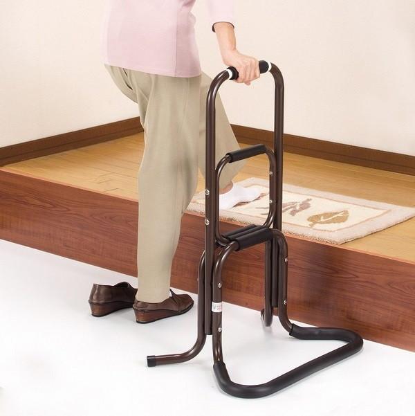 【ランキング1位受賞】立ち上がりラクラク手すり 2個組 介護用品 移動 歩行支援用品 手すり膝や腰の負担を助け楽に立ち上がれます!日本製です 4482 手すり 玄関 ベッド トイレ手すり 歩行補助 介護用品 ステッキ 手すり 玄関 トイレ 立ち上がり 手すり