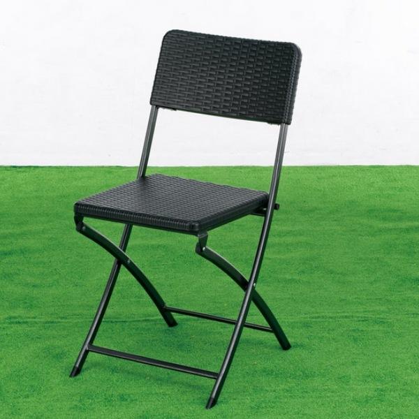 【300円OFFクーポン配布中】【ランキング獲得】ラタン調のガーデンチェア 4個組 858送料無料 お庭やベランダに置いてお茶やBBQに最適です♪完成品です 4726 チェア いす イス 椅子 ガーデンファニチャー ガーデニング エクステリア イス ガーデンチェア BBQ イ