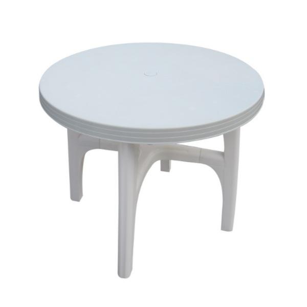 \300円引きクーポン進呈/プラガーデンテーブル 4個組 OF02TE送料無料 軽量なので持ち運びが便利です 4807 ガーデンテーブル テーブル バルコニー 机 つくえ ガーデン アウトドア BBQ ガーデンテーブル デンテーブル ホワイト