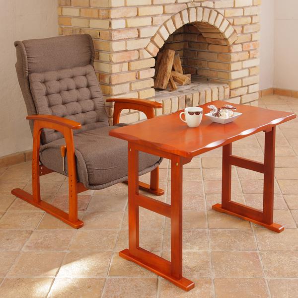 【300円OFFクーポン配布中】テーブル 高座椅子1脚セット 070送料無料 テーブル 座椅子 机 82-718+83-805 82-782+83-805 デスク ライティングデスク テーブル フリーテーブル 机 つくえ 木製 座椅子 椅子 いす チェア デスクセット 高