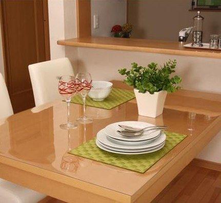 \300円引きクーポン進呈/【ランキング1位受賞】透明テーブルマット 45×90cm送料無料 テーブルを保護します♪ テーブルマット スリップコート