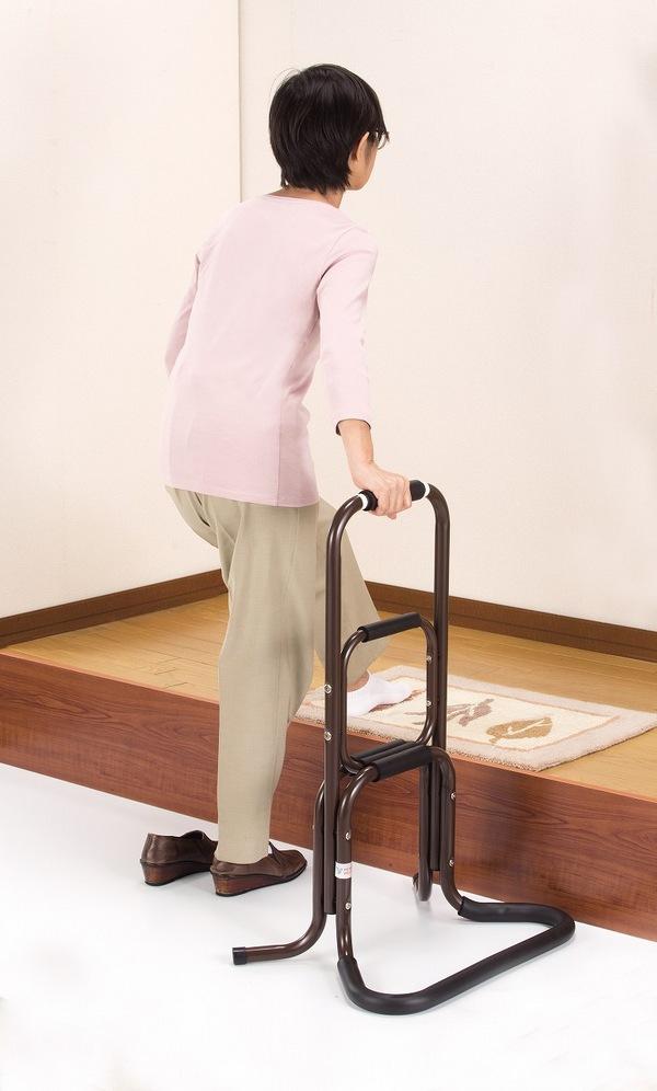 介護用品 移動・歩行支援用品 手すり 立ち上がりラクラク手すり膝や腰の負担を助け楽に立ち上がれます!日本製です 4481 手すり シルバー用品 介護用品 歩行補助 ステッキ 介護 手すり 日本製