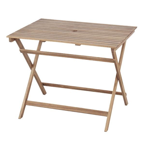 バイロン折りたたみテーブル幅90