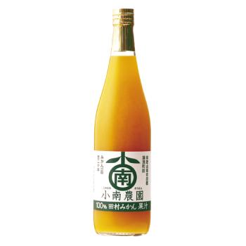 無添加 超激得SALE 果汁100%ストレートジュース 田村みかんジュース720ml1本 マーケット
