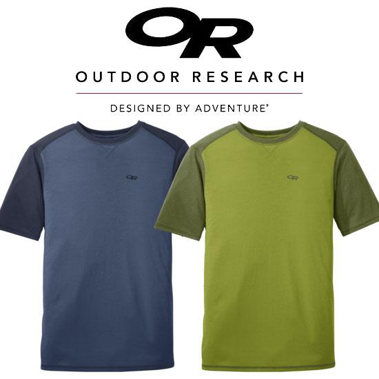 アウトドアリサーチ シークエンスデュオTシャツ 19841774 メンズ/男性用 MEN'S SEQUENCE DUO TEE  ※半期に一度のクリアランス