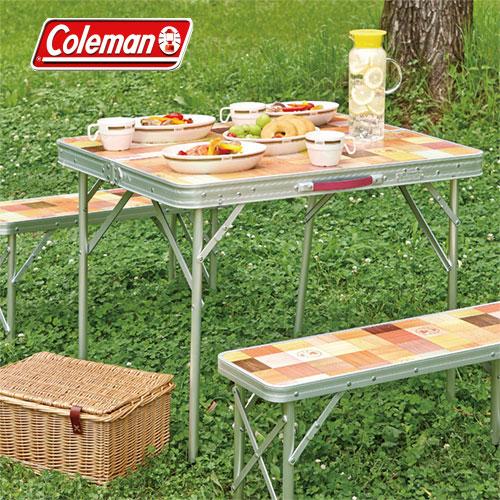 コールマン 取寄 テーブル 2000026758 ナチュラルモザイクファミリーリビングセット/ミニプラス ※取寄せのため返品不可