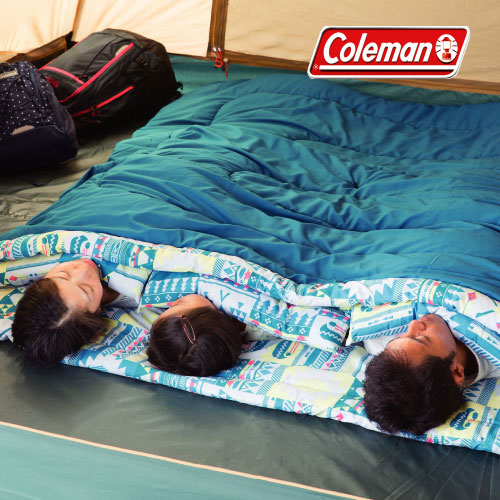 コールマン 取寄 寝袋 2000027257 ファミリー2 in1/C5 ※取寄せのため返品不可