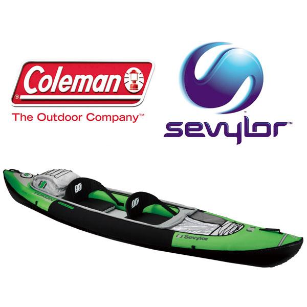 コールマン 取寄 セビラー CLMN2000009353 ユーコン ユーコン(TM) インフレータブルカヤック 二人用カヌー sevylorセビラー
