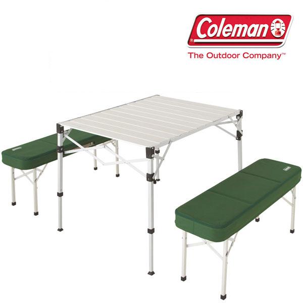 コールマン 取寄 テーブルセット CLMN2000010516 ピクニックテーブルセット 折りたたみ机 フォールディングテーブル フォールディングベンチ