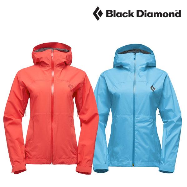 ブラックダイヤモンド ウィメンズストームラインストレッチレインシェル BD61000 レインジャケット レディース/女性用
