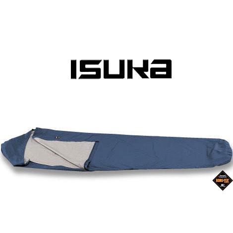 イスカ シュラフ カバー ISK200721 ( ネイビーブルー) ゴアテックスシュラフカバーウルトラライト シュラフ用小物 寝袋用小物 寝具 スリーピングバッグ