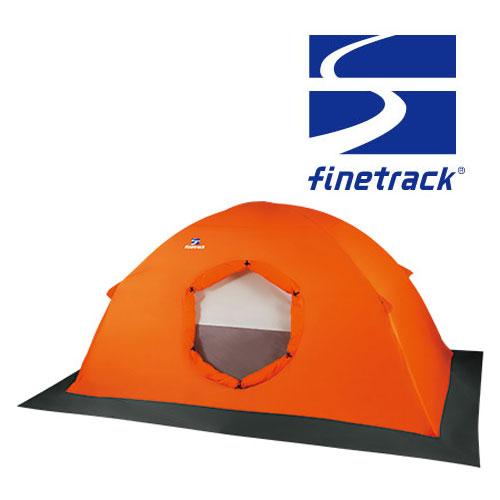 ファイントラック テント FAG0321(OGオレンジ)カミナドーム1スノーフライ 冬期山岳テント用フライシート カミナドーム1専用オプションフライシート