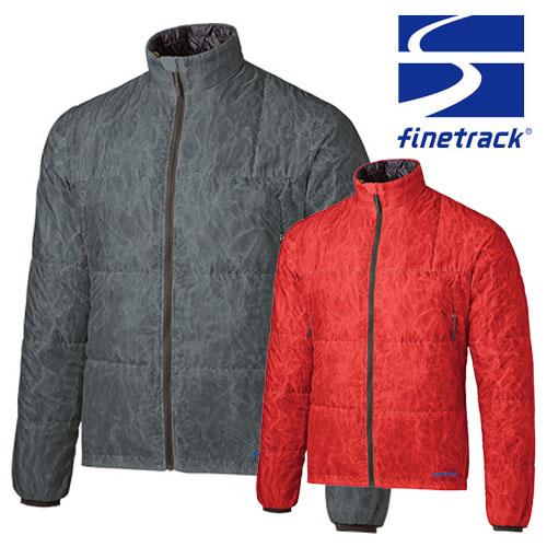 ファイントラック ジャケット メンズ/男性用 FIM0213 ポリゴン2ULジャケット 中綿ジャケット インサレーションジャケット 収納袋付き