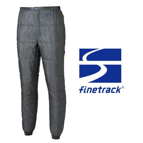 ファイントラック パンツ メンズ/男性用 FIM0214(MLメタル)ポリゴン2ULパンツ 中綿入りパンツ インサレーションパンツ 収納袋付き