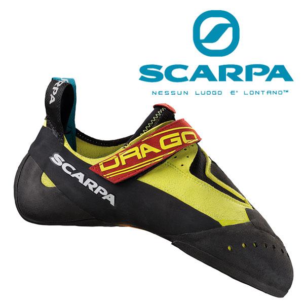 スカルパ クライミングシューズ SC20190(イエロー)ドラゴ DRAGO 靴/クライミングシューズ ロッククライミング ボルダリングシューズ ロストアロー正規取引店