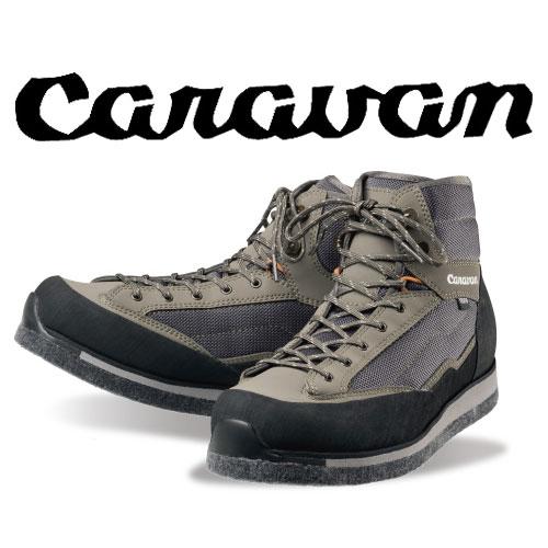 キャラバン KR_3F WIDE CRVN0035014 ケイアール3Fワイド 沢靴 470ウォールナッツ