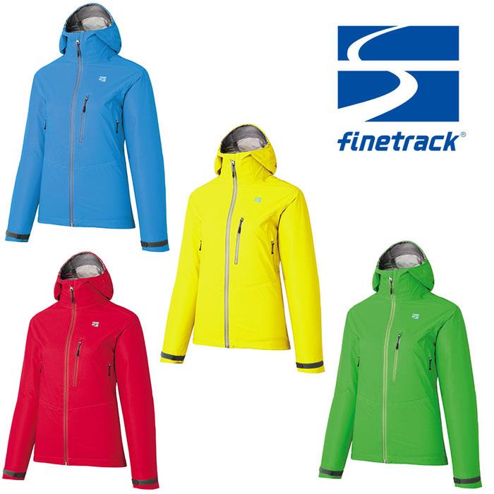 ファイントラック ジャケット レディース/女性用 FAW0321 エバーブレスフォトンジャケット ストレッチレインウェア 雨具 アウターシェル レインジャケット